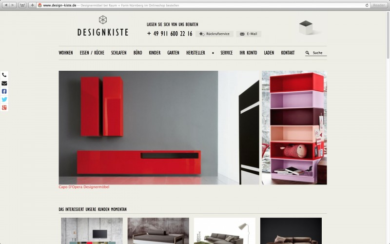 Design Kiste Onlineshop