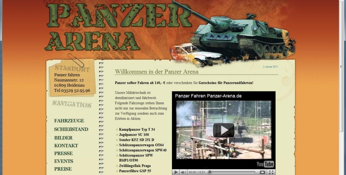 Panzer Arena – Panzer selbst fahren