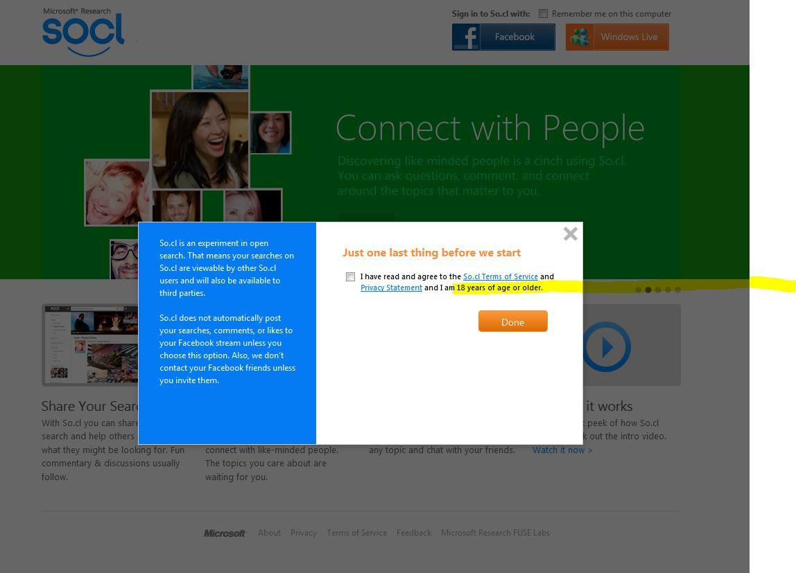 Microsoft Social Networks