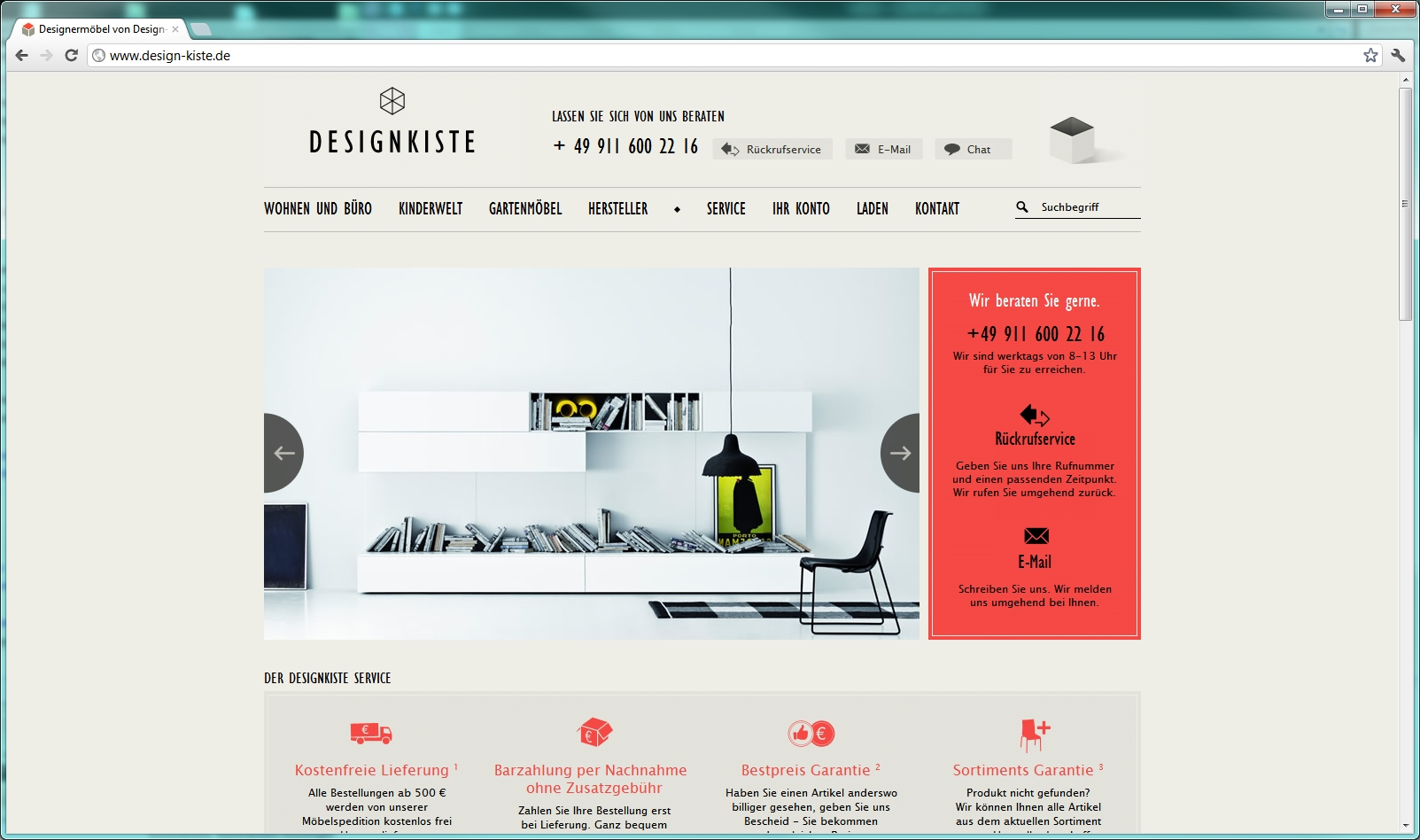 Onlineshop webdesign vielf ltige m glichkeiten for Outlet design online