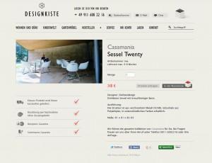 Onlineshop xtCommerce Veyton Design-Kiste Casamania