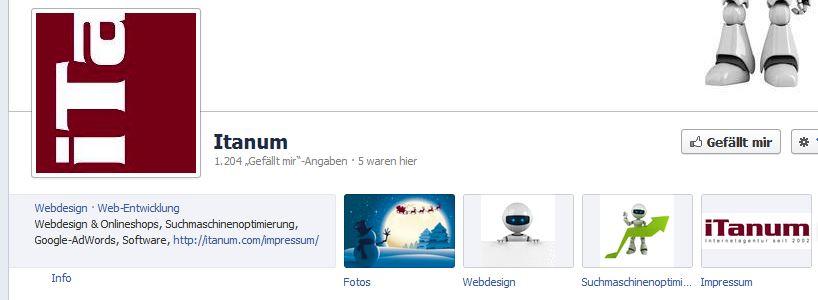 iTanum Facebook Impressum