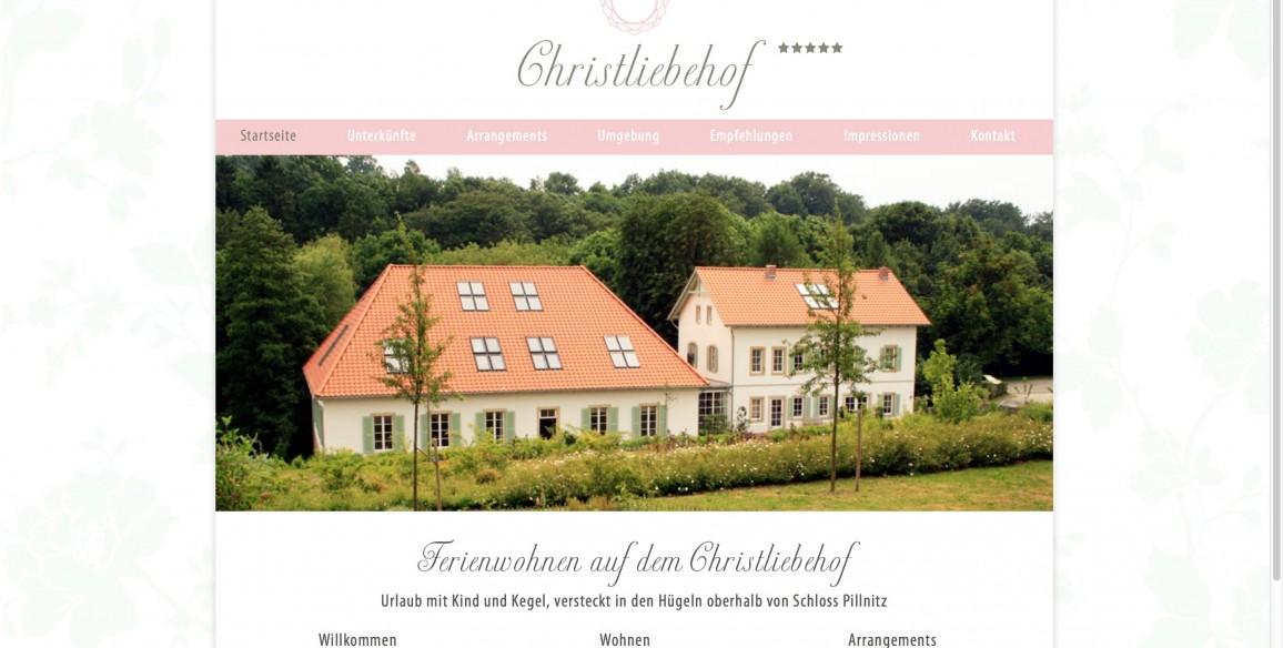 Christliebehof Ferienwohnen in Dresden