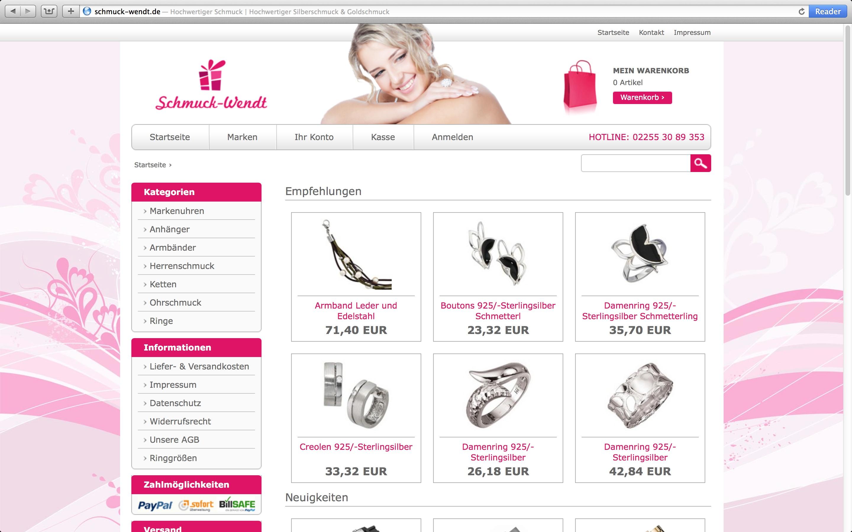 webdesign und onlineshop referenzen internetagentur. Black Bedroom Furniture Sets. Home Design Ideas