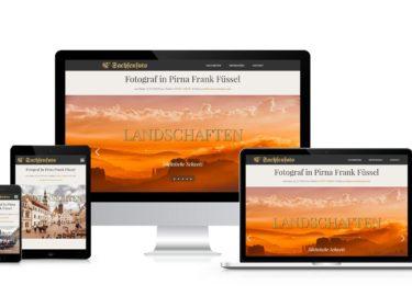 Fotograf Pirna – Webdesign